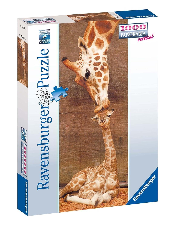 Ravensburger 15115 Panorama Giraffe Puzzle 1000 Pezzi Panorama
