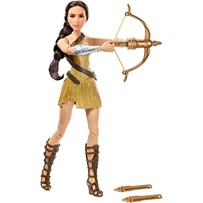 "Mattel DC Wonder Woman Bow-Wielding Doll, 12"": Toys & Games"