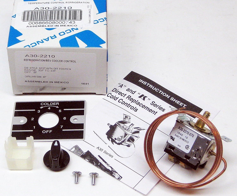 Amazon Ranco Control Temperature A30 2210 Home Improvement