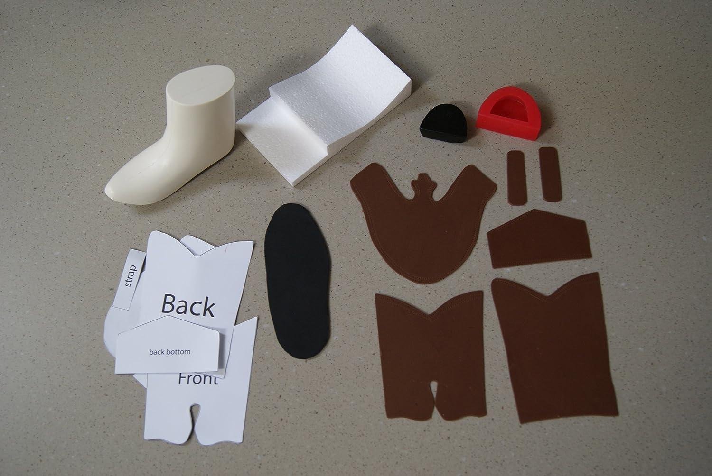 Amazon.com: 3d Cowboy Boot Kit for Gumpaste/fondant: Cookie Cutters ...