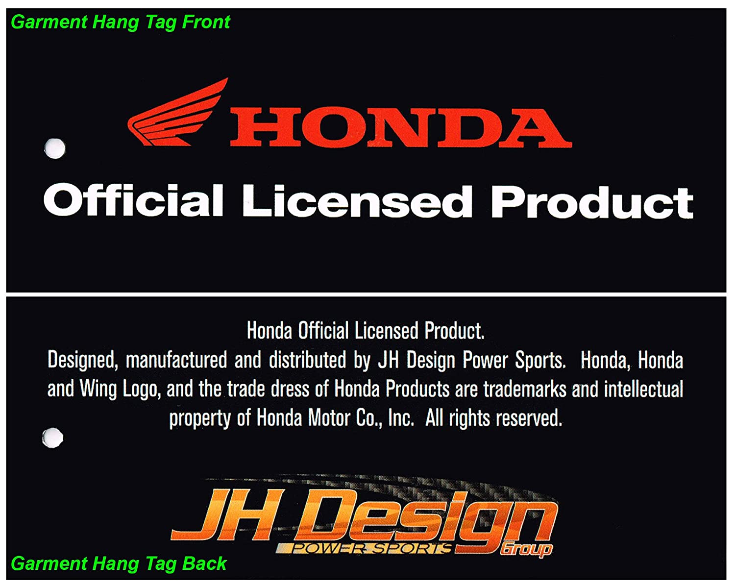 JH DESIGN GROUP Men/'s Honda Hoodie with Multiple Logos a Sweatshirt for Men HON903RAC4
