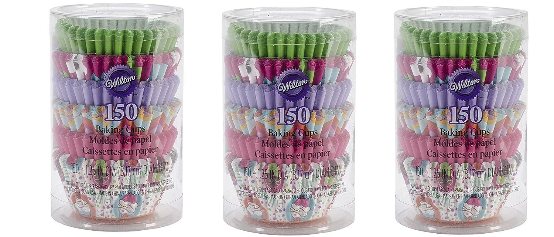 Mini Wilton Multi Baking Cups 150-Count Pink