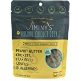 Jiminy's Cricket Protein Peanut Butter & Blueberry Cricket Cookie Treats | 100% Made in The USA | Gluten-Free…