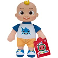 Cocomelon Little Plush Jj Doll In Shark Shirt Outfit 23Cm, CMW0019