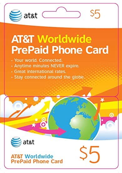 50 att worldwide prepaid phone card 50 - International Calling Cards Online