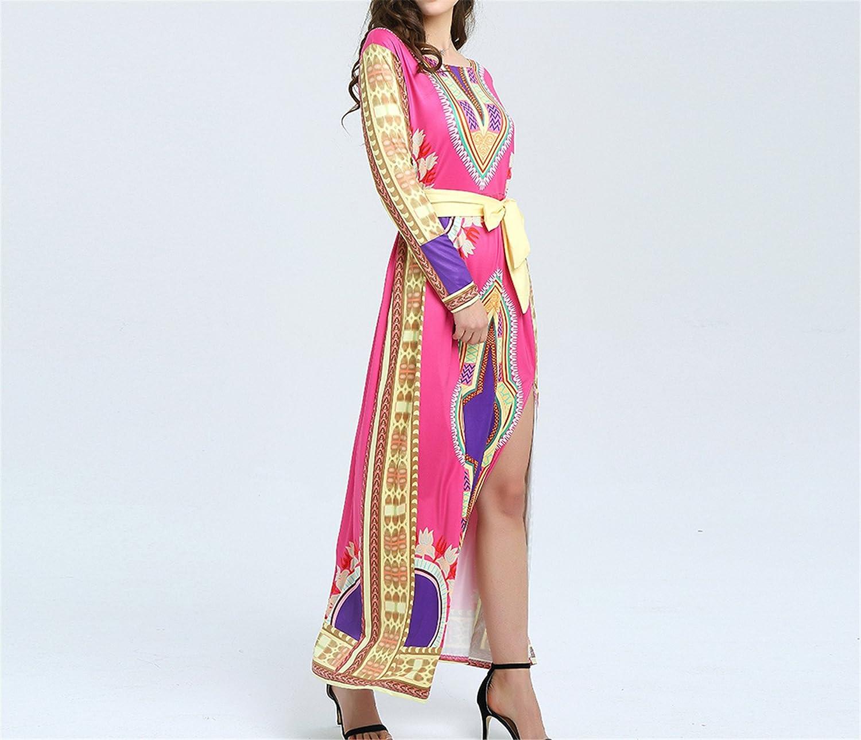 Amazon.com: Eloise Isabel Fashion dress plus size vestidos elegantes manga comprida vestidos robe longue bazin africano roupas plus size: Clothing