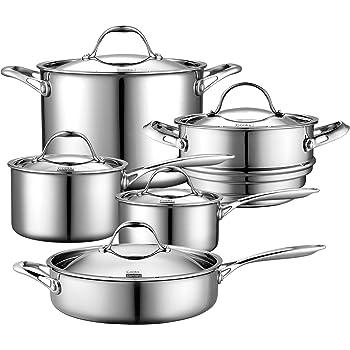 Amazon Com 360 Cookware Premium Waterless Stainless Steel