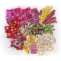 Chupa Chups Kids Party Mix 1,3kg: Zak met mix van 150 snoepjes, lollies en kauwgom in verschillende soorten en smaken…