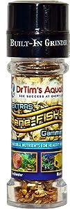 DrTim's Aquatics Bene-FISH-al Mealworms Grinder Fish Food Enhancement Refill – Adds Extra Flavor, All Natural – For Freshwater, Marine Aquaria