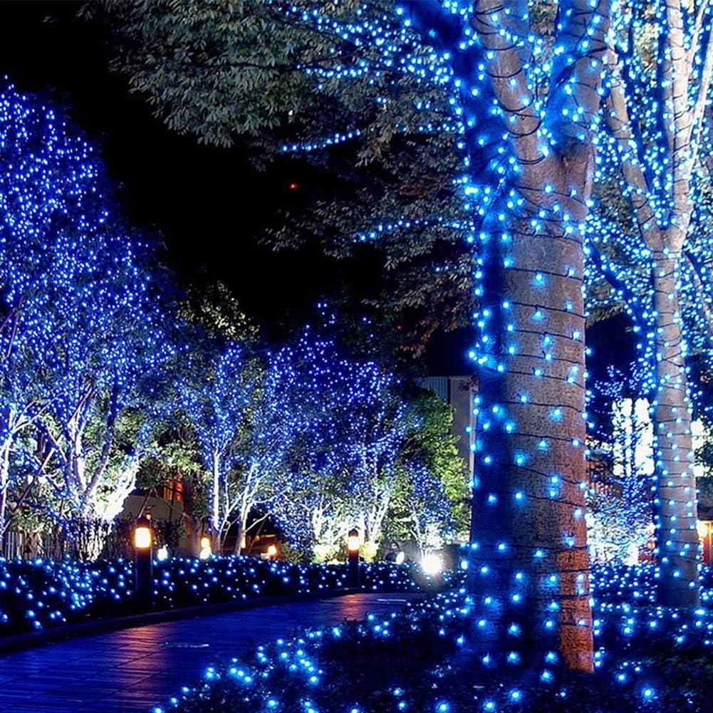 ASKLKD Im Freien Wasserdichte Stecker In LED-Schnur-Licht Dekorative Fairy Lichterketten, For Schlafzimmer Hochzeit Innenweihnachtsdekoration (Color : Yellow-30m 300LEDs) White-30m 300leds