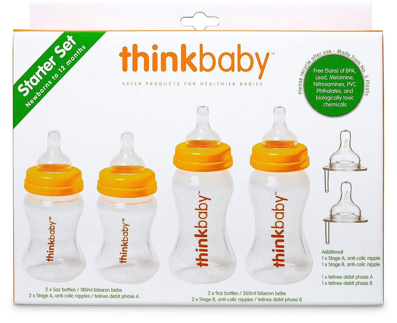 Amazon.com: Thinkbaby última intervensión de BPA Starter Set ...