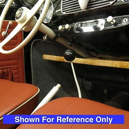 American Shifter 193220 Red Retro Metal Flake Shift Knob with M16 x 1.5 Insert Yellow Hummingbird