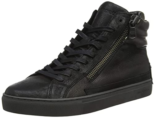 088fb3bcc39a Crime London 11321aa1.20, Sneaker a Collo Alto Uomo, (Nero 020), 44 ...
