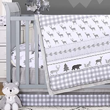 Top Brands United States Classic Fit Forest Crib Bedding
