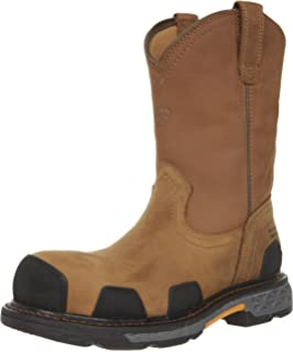 Men's Ariat OverDrive XTR Pull-On H2O CT, Size: 14 2E, Brown/Oily Distressed Brown Leather/Cordura
