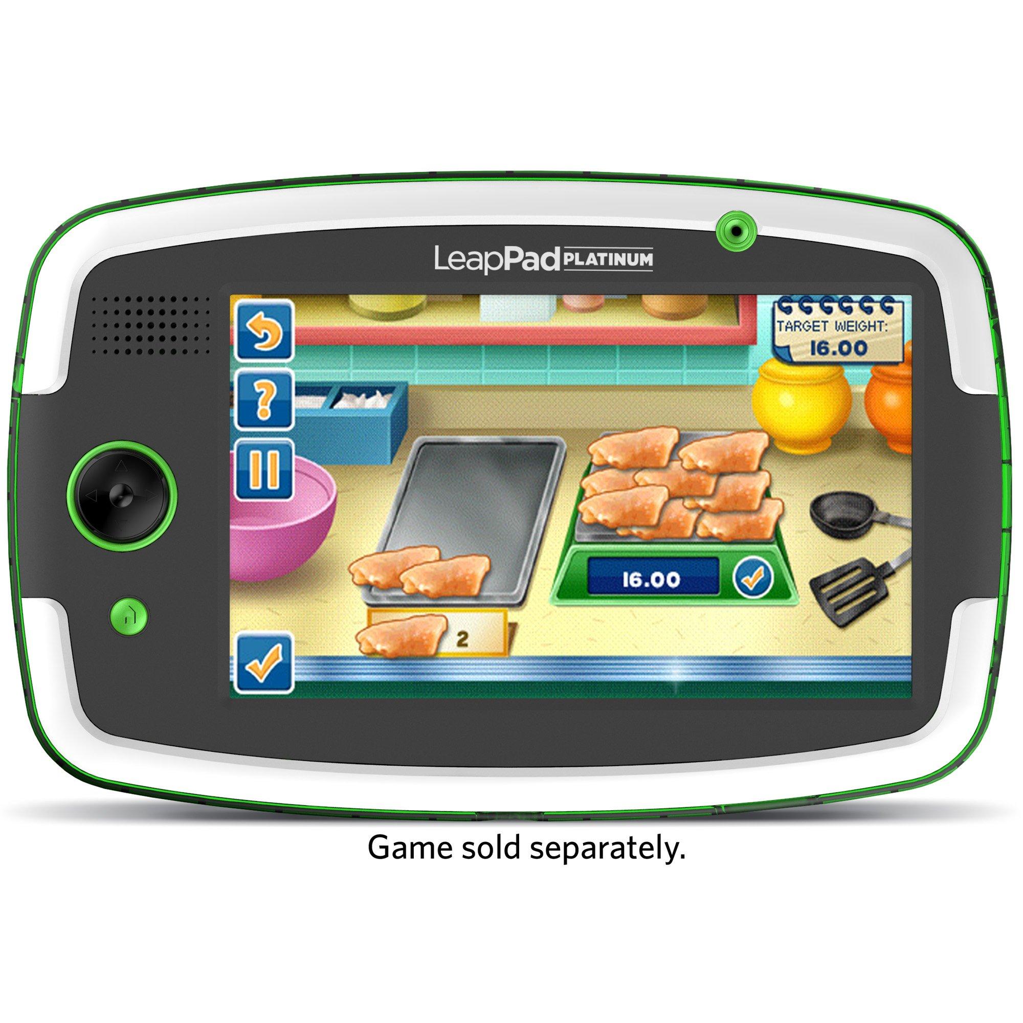 LeapFrog LeapPad Platinum Kids Learning Tablet, Green by LeapFrog. (Image #11)