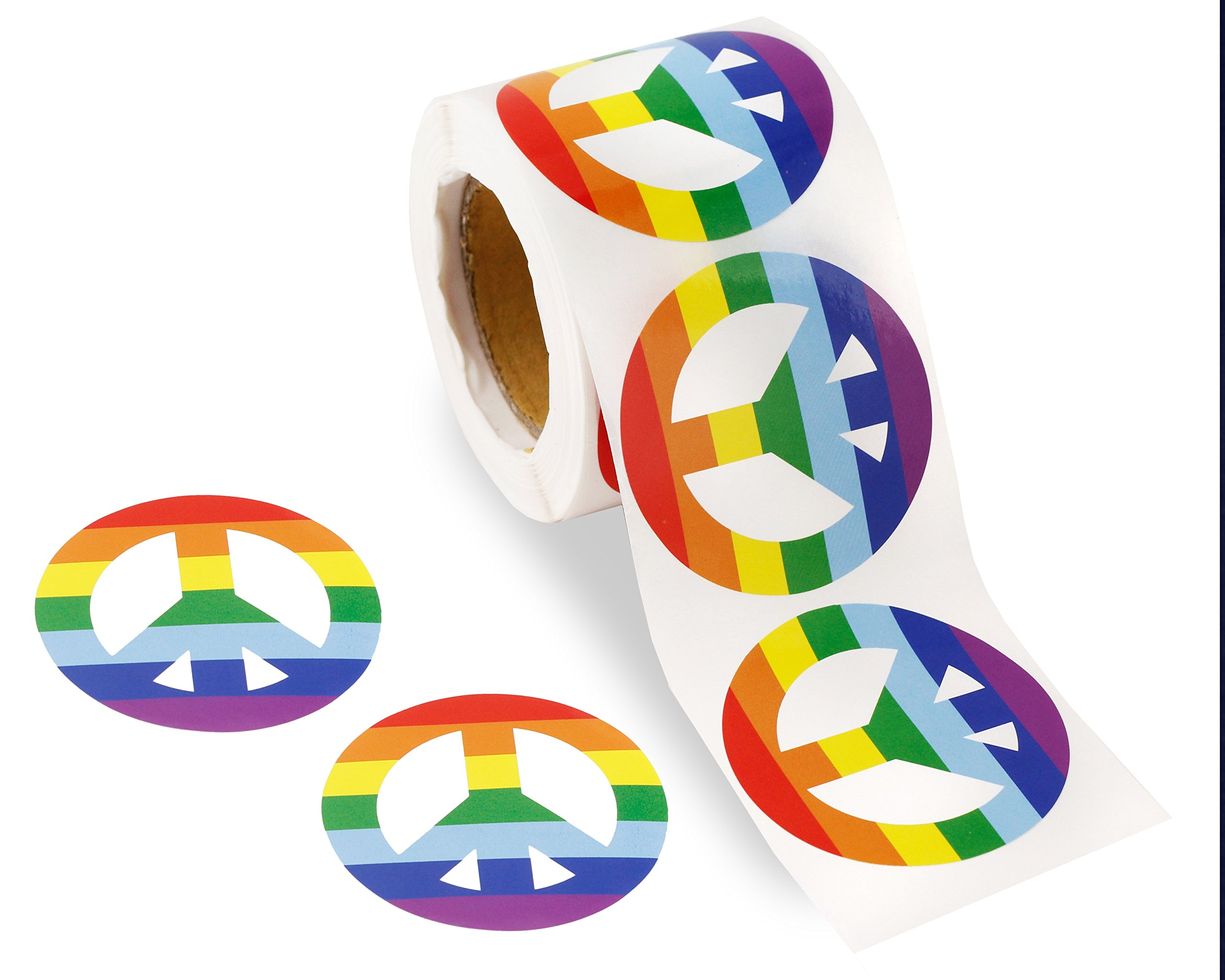Stickers Calcos 250 un. LGBT Origen U.S.A. (799PQGVH)