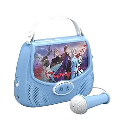 Frozen II Disney Sing Along Boombox Connect MP3, Microphone: Toys & Games