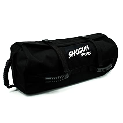 4e20f0d35a Shogun Sports Sandbag. Adjustable Weight Heavy Duty Training Sandbag with  Multiple Handles. Ideal for