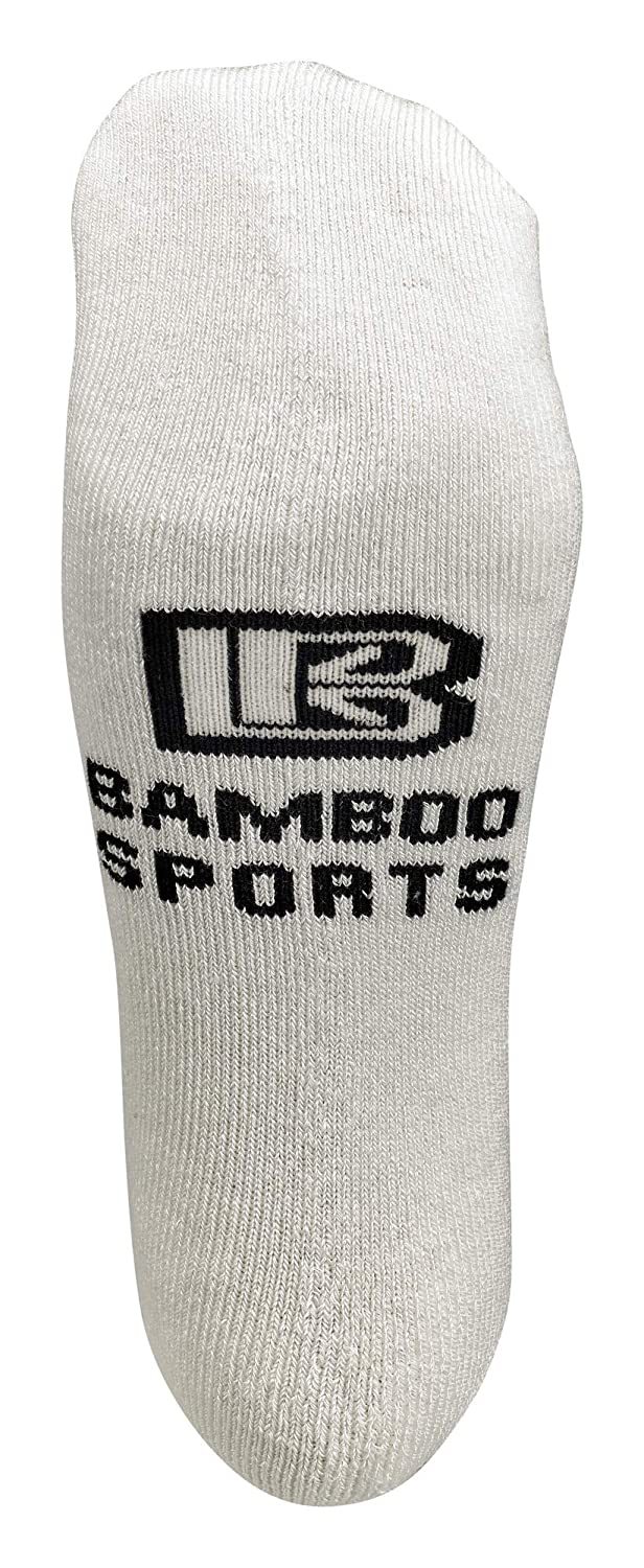Super Soft and Comfortable No Show Bamboo Workout Socks for Men /& Women /& Kids
