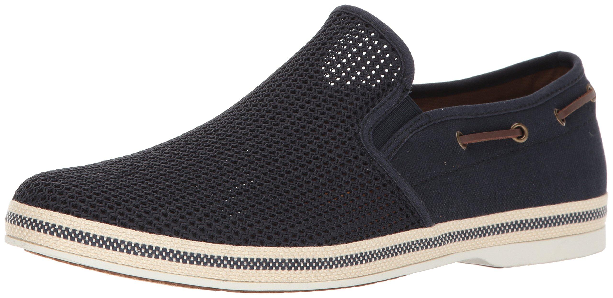ALDO Men's Carufel Slip-on Loafer, Navy, 10.5 D US
