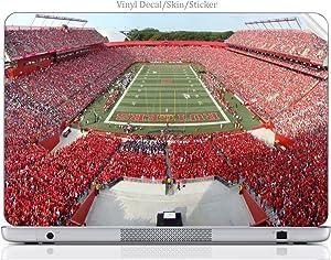 Laptop VINYL DECAL Sticker Skin Print College Football Stadium fits Hp Elitebook 8460p