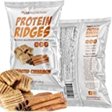 Ooh Snap Nutrition Protein Ridges - Gluten Free and All Natural Whey Protein Chips - Low Calories and Low Sugar Snack…