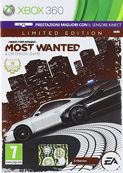 55 opinioni per Need For Speed: Most Wanted- Limited Edition