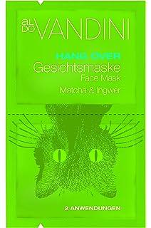 Aldo vandini Hangover Máscara Facial Brocha & Jengibre, 5 unidades (5 x ...