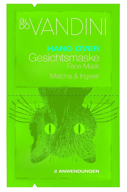 Aldo vandini Hangover Máscara Facial Brocha & Jengibre, 5unidades (5x 15ml) 433009