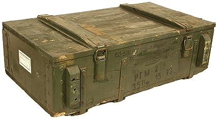 Caja de munición PTM-Caja para guardar CA CA 81x 51x 31cm Militar Caja Munitions