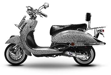 Retroroller Motorroller Roller Retro Scooter 50 Ccm 45 Kmh