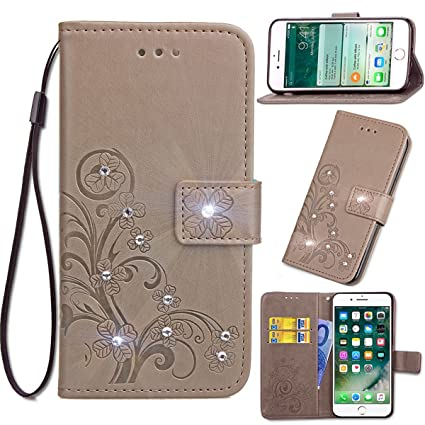 Amazon com: Scheam Huawei Y5 Case Luxury PU Leather Wallet
