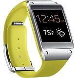 Samsung Galaxy Gear SM-V700 Smartwatch, Ecran AMOLED 1.63 pouces, Android, Appareil photo et vidéo, Bluetooth, Jaune (compatible Note 3 et S4 uniquement)
