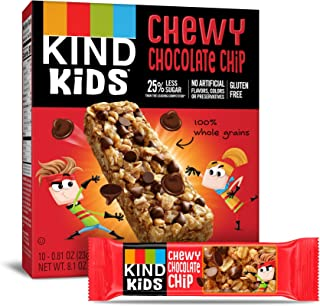 product image for KIND Kids Granola Chewy Bar, Chocolate Chip, 10 Count (6 Pack)