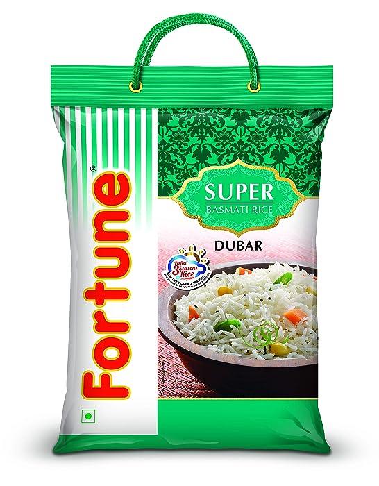[Pantry] Fortune Super Dubar Basmati Rice, 5 Kg