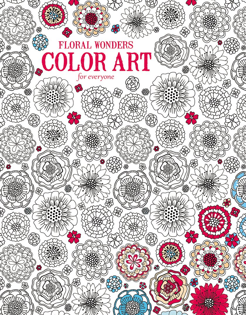 Coloring book color of art - Amazon Com Floral Wonders Color Art For Everyone Leisure Arts 6706 9781464750427 Leisure Arts The Guild Of Master Craftsman Publications Ltd