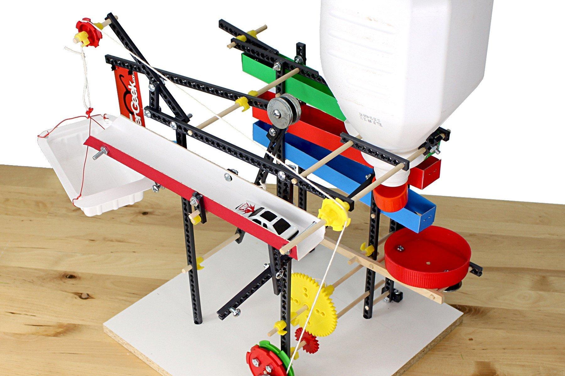 TeacherGeek Crazy Contraptions Rube Goldberg STEM | STEAM Activity Kit
