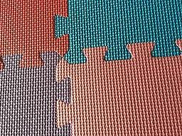 Amazon Com Hemingweigh Kid S Multicolored Puzzle Play Mat