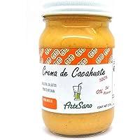 Crema de Cacahuate 100% natural artesanal sin sal azúcar o conservantes artificiales CONTENIDO 237 gramos