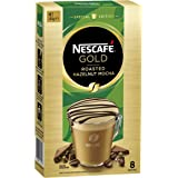 NESCAFÉ Gold Special Edition Roasted Hazelnut Mocha Coffee Sachets 8 Serves, 144 g