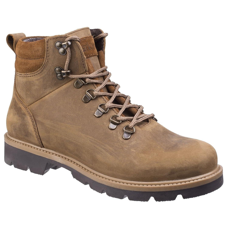 Darkwood Mens Maple Water Resistant Leather Warm Lined Walking Stiefel
