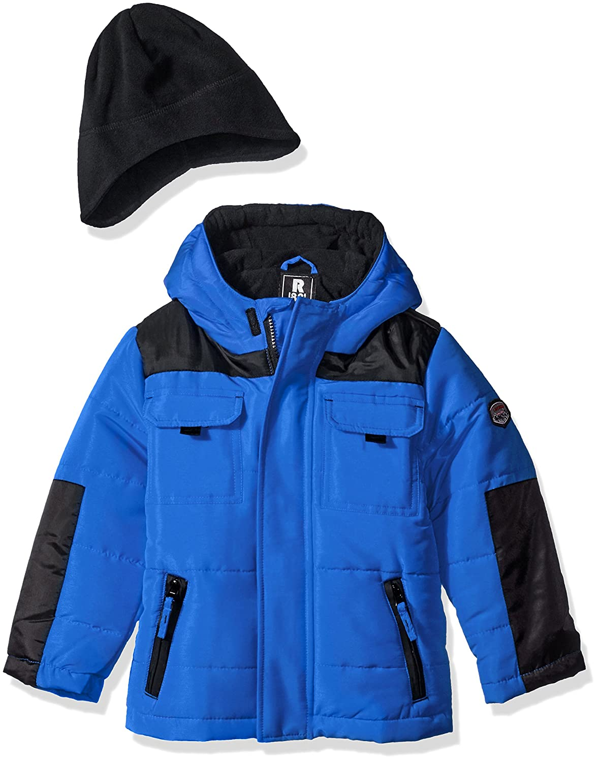Rothschild boys 2 Tone Bubble Jacket With Hat Cobalt (L) 6X 46351-F6