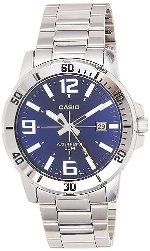 2. Casio Enticer Analog Blue Dial Men's Watch