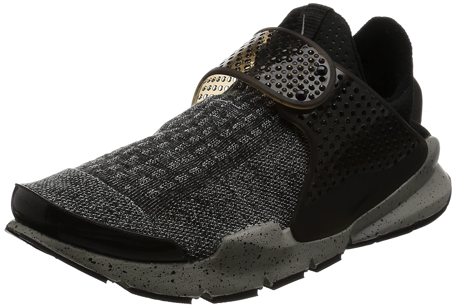 Nike Sock Dart SE Premium 859553-001, Herren Trail Runnins Sneakers  45 EU|Schwarz (Black / White-university Red-dust)