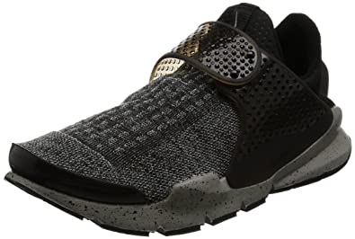 meet ef380 209a6 Nike Men s Sock Dart SE Premium, Black University Red Dust White,