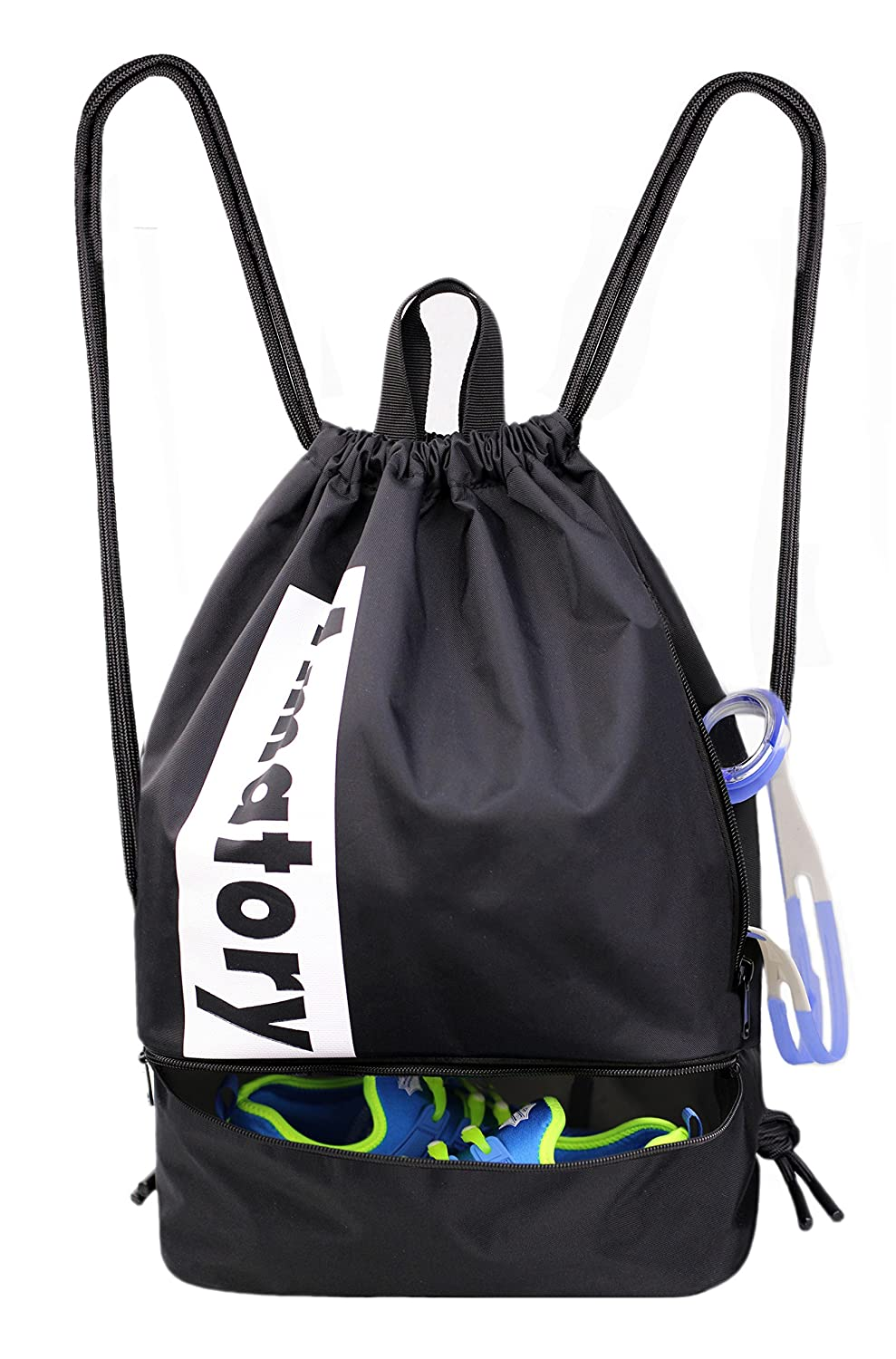 Personalised Tennis Gym Bag Swim Nursery Drawstring School PE Kit Sports Kids