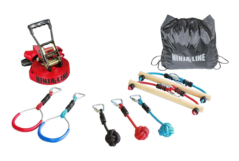 Slackers USA Ninja Line Starter Set, Curso de 11 metros ...