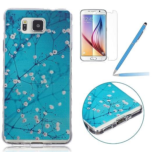 30 opinioni per Samsung Galaxy Alpha Custodia Silicone,