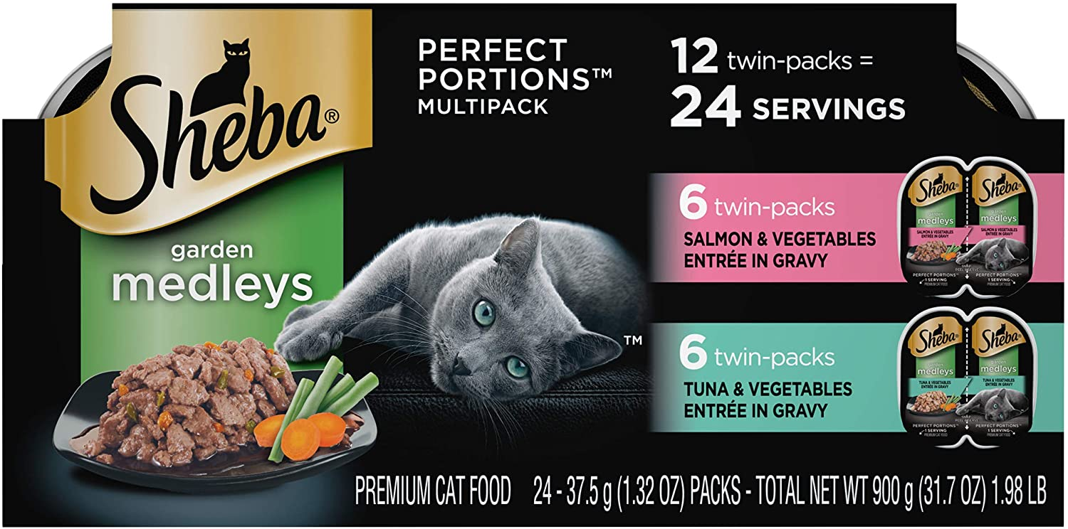 Sheba Perfect Portions Garden Medleys Cat Food